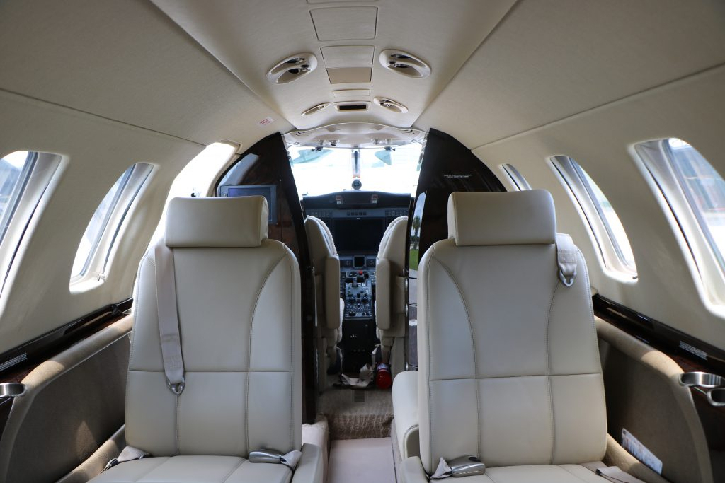 Private Plane Interior - Air Unlimited
